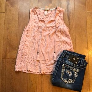 Knox Rose small dusty rose tank